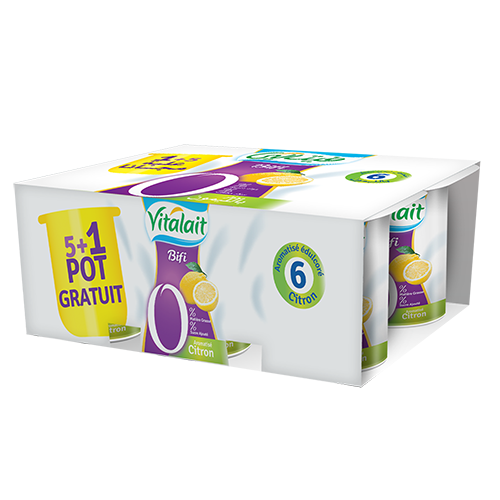 Pack of 6 Bifi Lemon 0%
